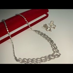 Swarovski Diamond Embedded Necklace